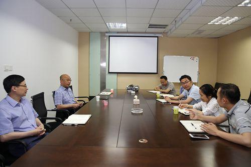 藏区高速公司李永林董事长赴高路咨询公司调研指导工作图片